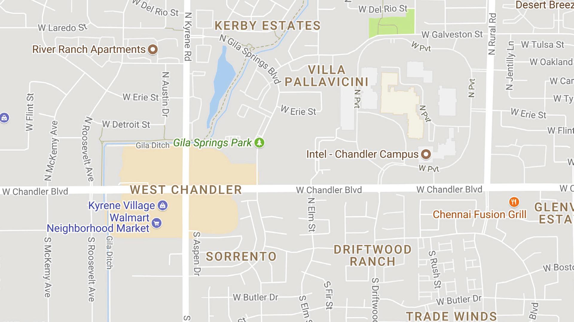 Intel Chandler Campus Site Map Www Topsimages Com